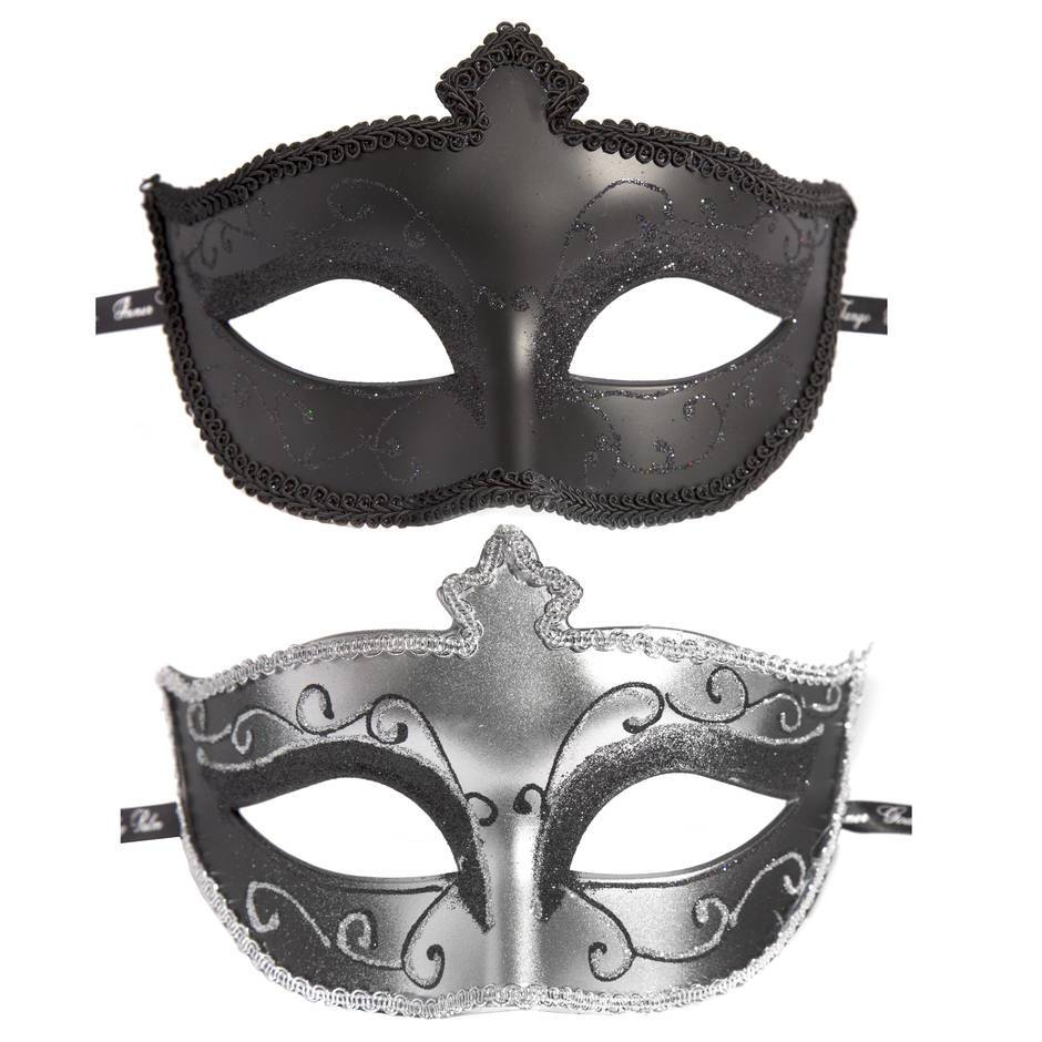 Fifty Shades Masks On Masquerade Set