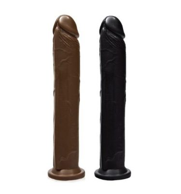 SI NOVELTIES 10 INCH COCK WITH SUCTION BASE
